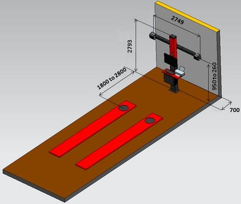 Bản vẽ chi tiết Corghi Exact Linear 3D
