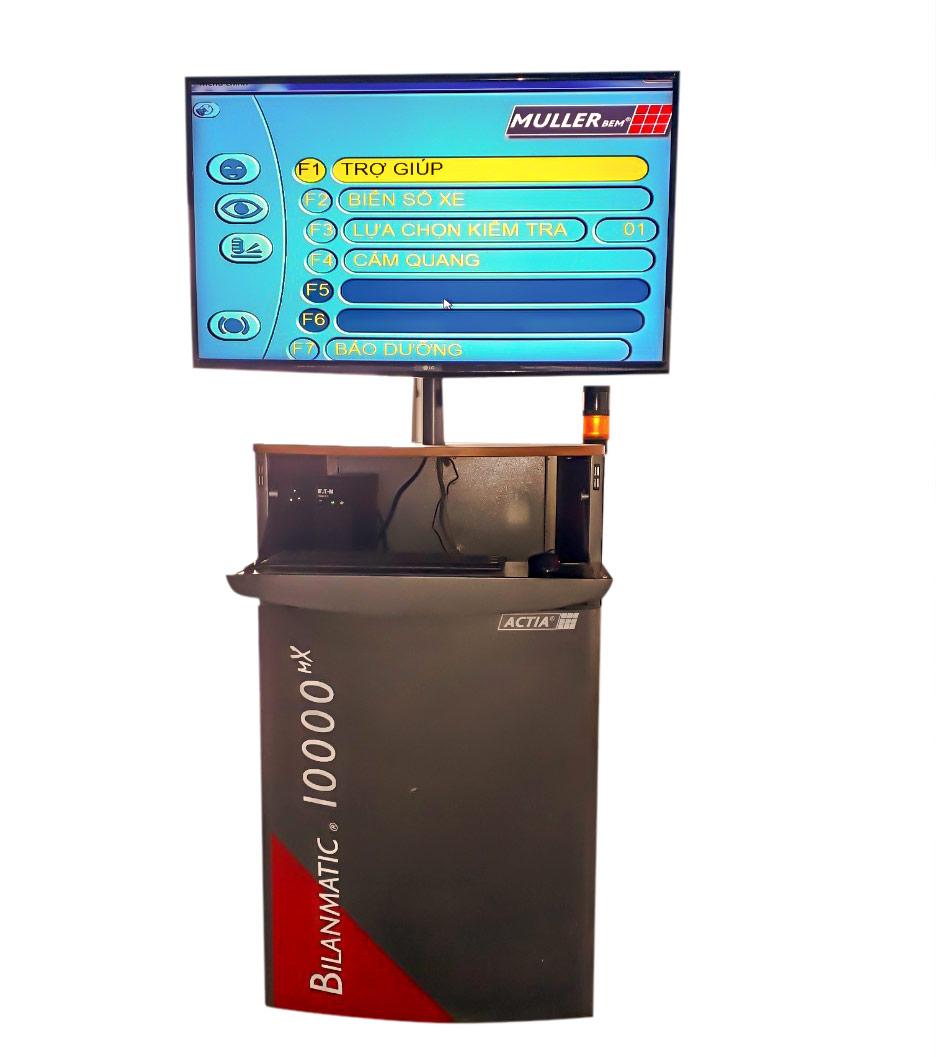 Bộ điều khiển trung tâm thiết bị kiểm tra phanh
