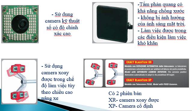 Đặc điểm thiết bị kiểm tra góc đặt bánh xe 8 camera Corghi