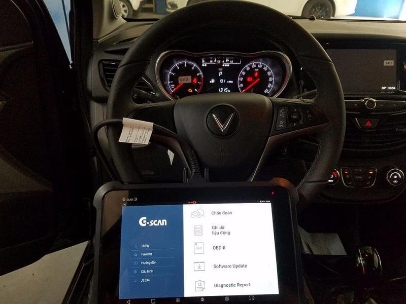 Máy chuẩn đoán ô tô Tiếng Việt GSCAN3