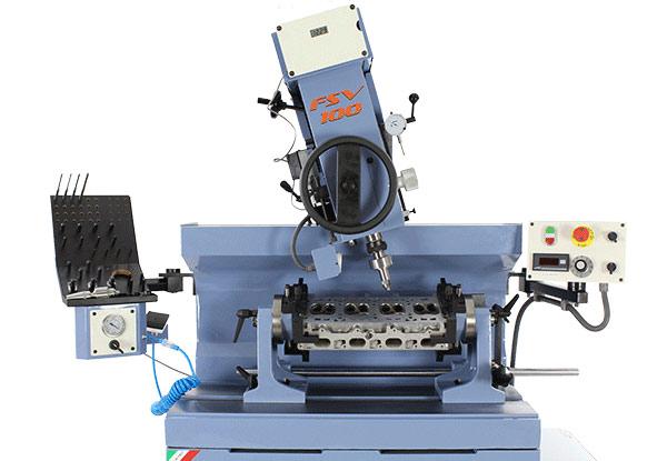 Máy doa ổ đặt xu páp và ống dẫn hướng xu páp Comec FSV100