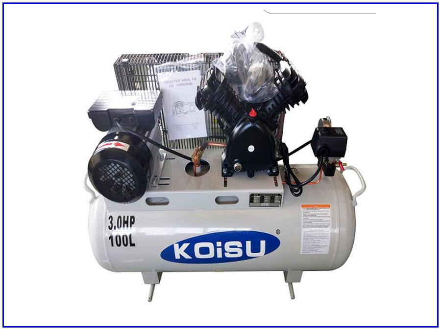 Máy nén khí piston 1 pha 2,2kw 100 lít Koisu