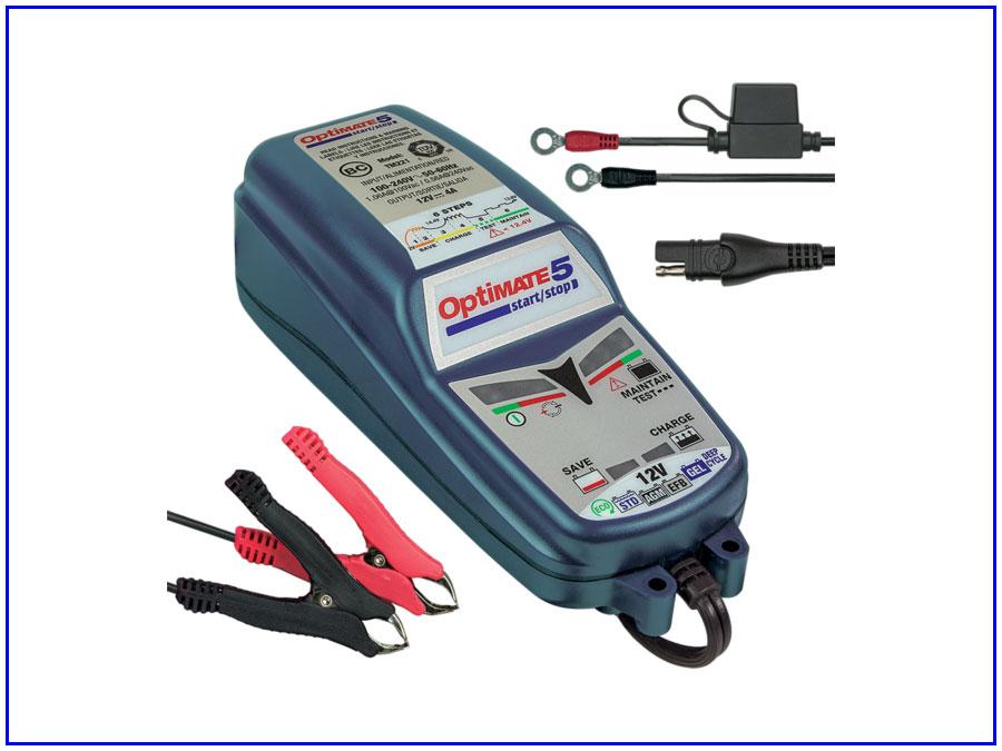 Máy sạc bình ắc quy xe ô tô 6V - 12V OptiMATE TM-220