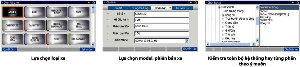 Máy đọc lỗi ô tô Tiếng Việt