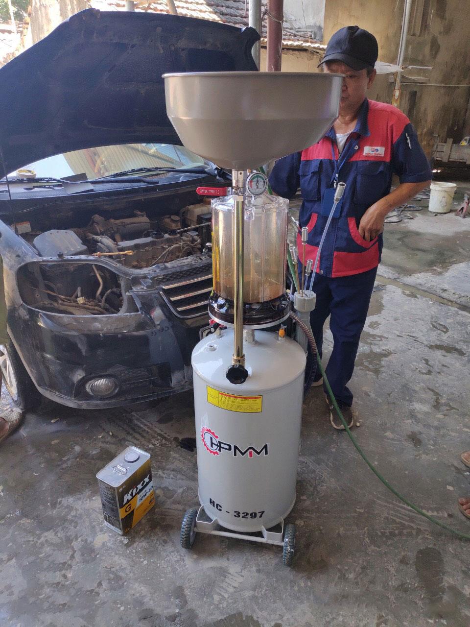 Bình hút dầu thải bằng khí nén 80 lít HC-3297
