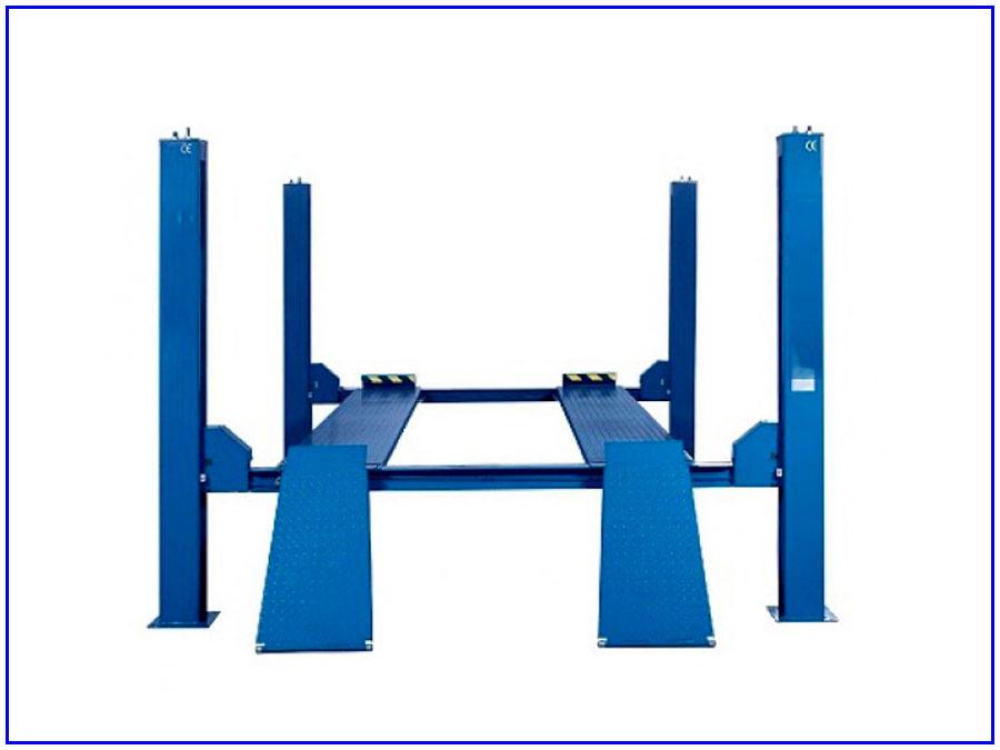 Cầu nâng 4 trụ Ritian RT-3.5-4C