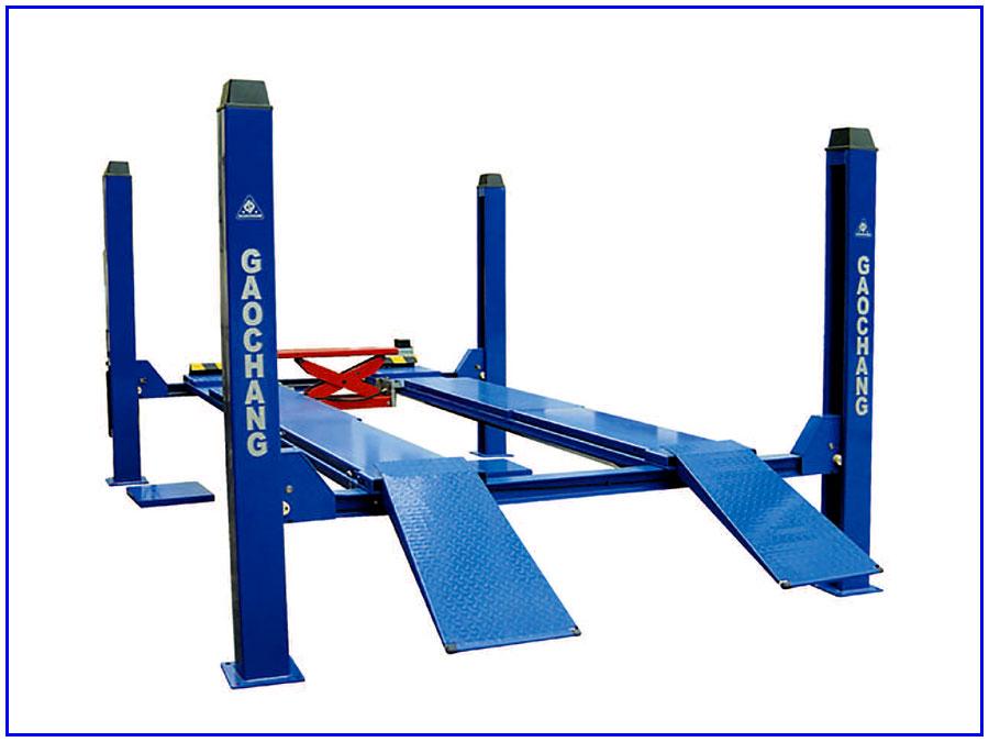 Cầu nâng 4 trụ gaochang GC-4.5F4
