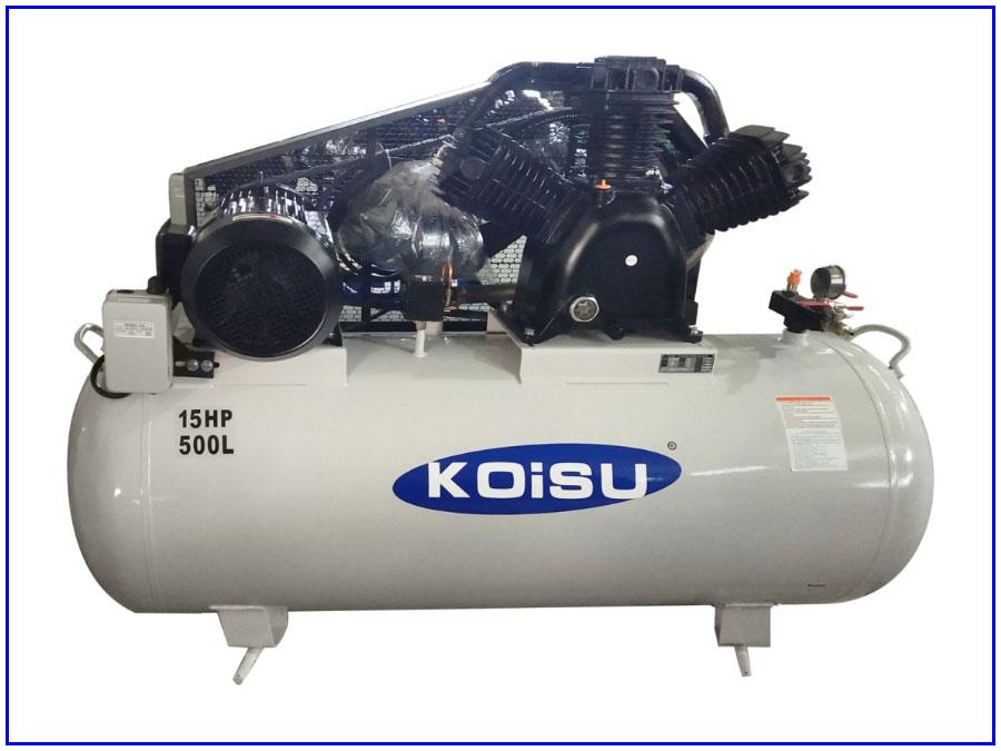 Máy nén khí piston 3 pha 11kw 15hp 500 lit