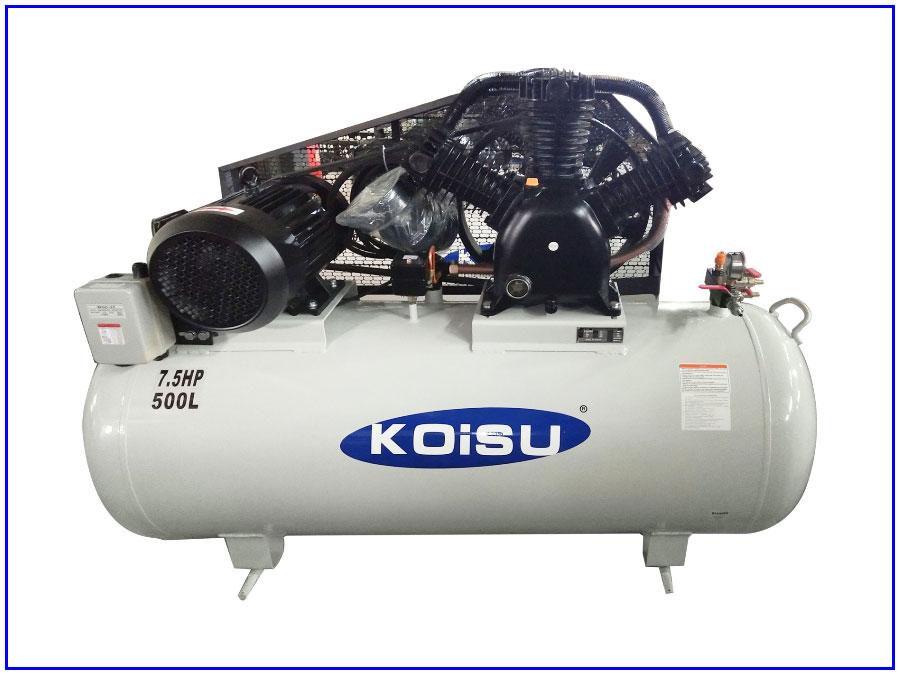 Máy nén khí piston 3 pha 5,5Kw/7,5HP/500 lít
