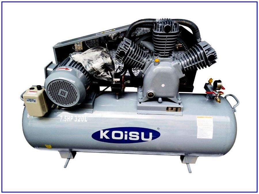 Máy nén khí Piston 3 pha 5,5Kw/7,5HP/320lit