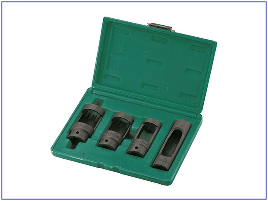 Bộ khẩu tháo kim phun 4 chi tiết Jonnesway AI010060