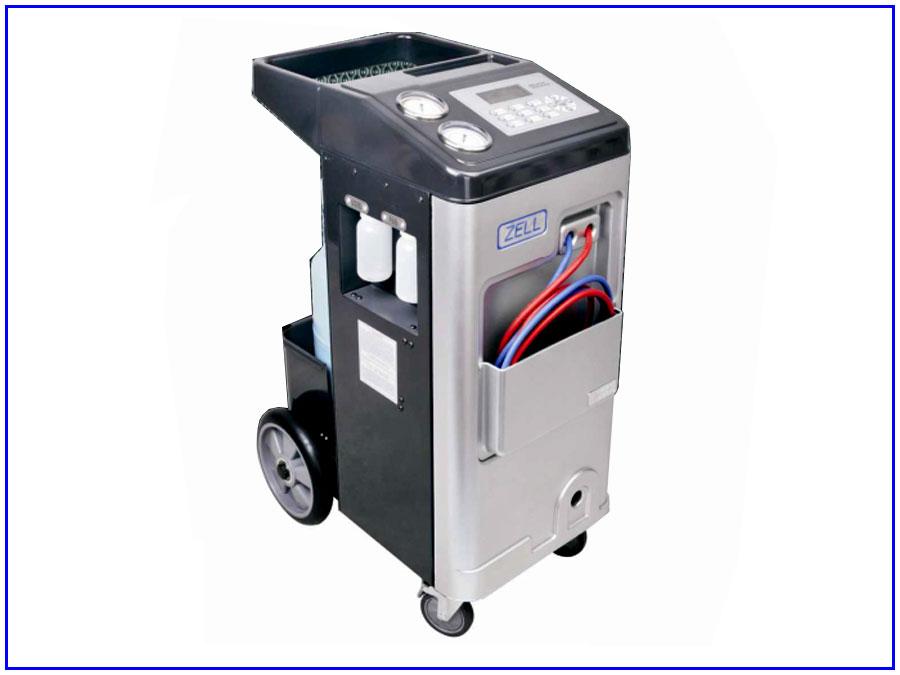 Máy nạp gas điều hòa ô tô tự động Zell AC1000 1