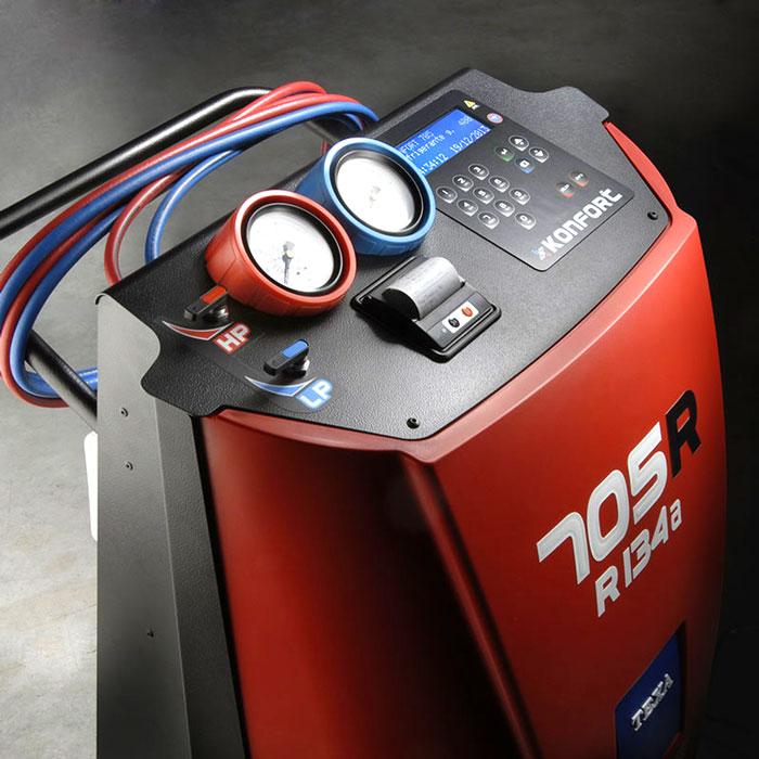 Bảng điều khiển máy nạp gas điều hòa ô tô Texa 705R