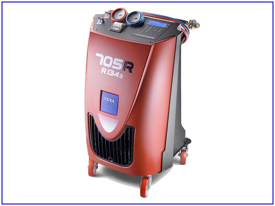 Máy nạp gas điều hòa ô tô tự động Texa 705R