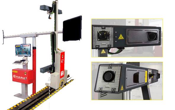 Thiết bị cân chỉnh góc lái Corghi 4 robot tự dò