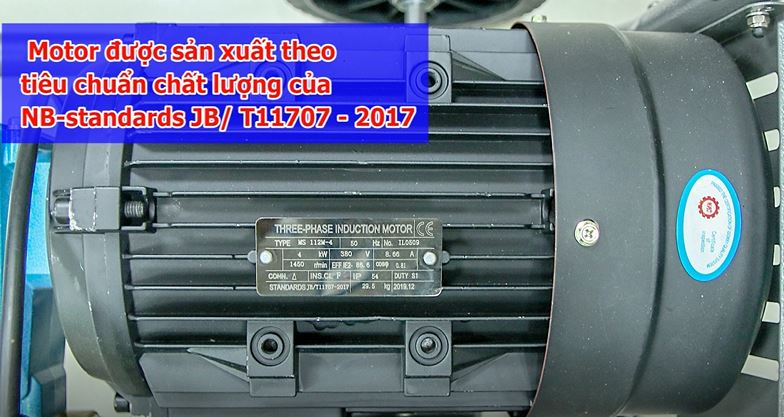 Mô tơ của máy rửa xe