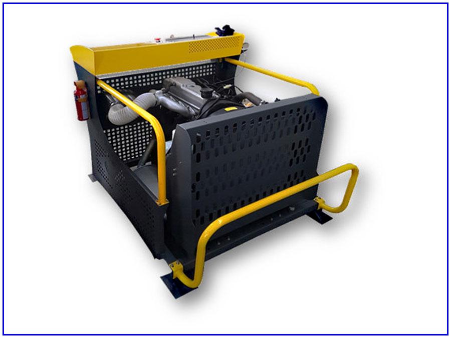 Mô hình đào tạo động cơ diesel dùng bơm cao áp VE 6 xy lanh