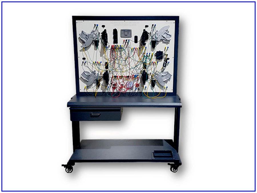 Mô hình đào tạo hệ thống nâng hạ kính gương TP-042801