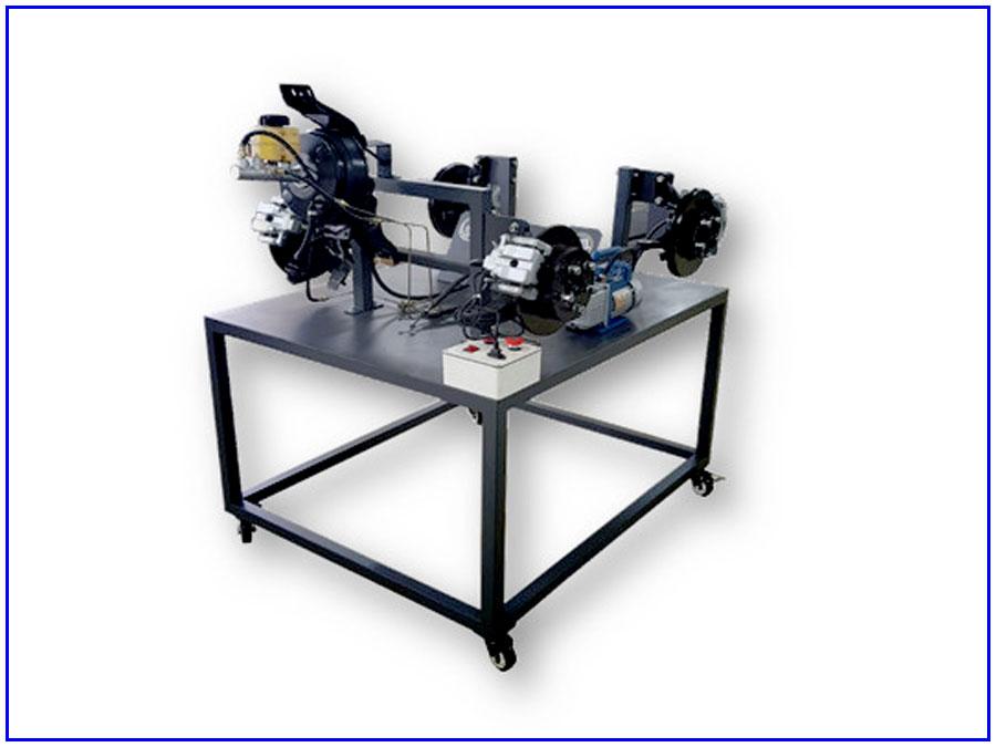 Mô hình đào tạo hệ thống phanh dầu TP-082103