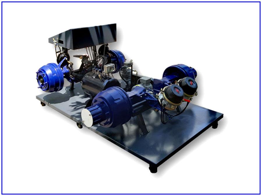 Mô hình đào tạo hệ thống phanh khí nén TP-082105