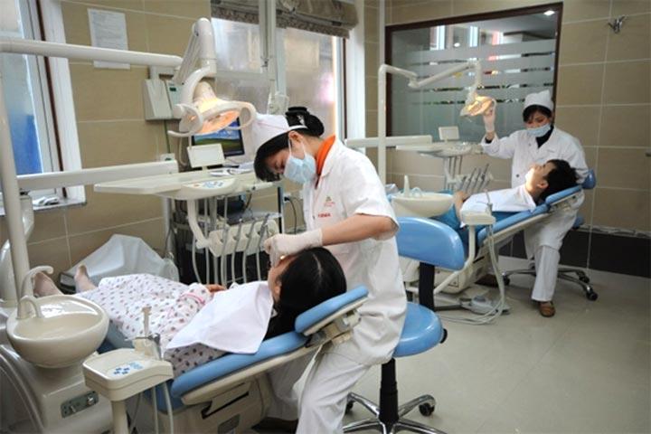 Máy nén khí được dùng trong y tế như bệnh viện, phòng khám