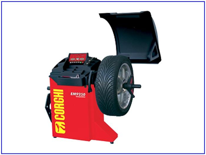 Máy cân bằng động bánh xe Corghi EM9250 BASIC