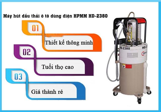 Máy hút dầu thải ô tô HD-2380