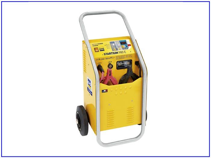 Máy nạp ắc quy ô tô 12-24V và khởi động đề STARTIUM 980E