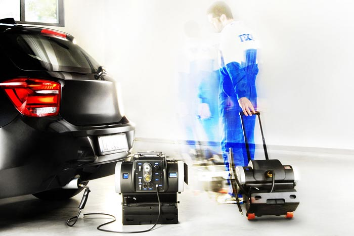 Thiết bị phân tích khí xả động cơ xăng 4 khí